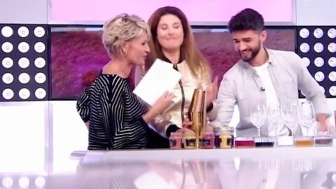 VIDEO Sophie Davant: sa gêne face un invité qui l'a totalement fait craquer