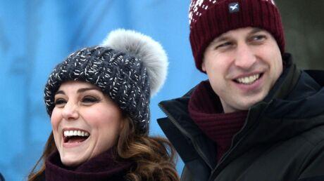 PHOTOS Kate et William amoureux et complices à Stockholm, trois mois avant l'arrivée de bébé