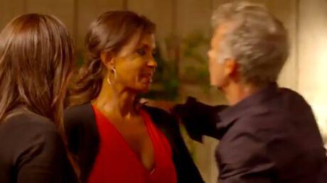 VIDEO Karine Le Marchand en larmes dans les bras de Franck Dubosc dans Une ambition intime