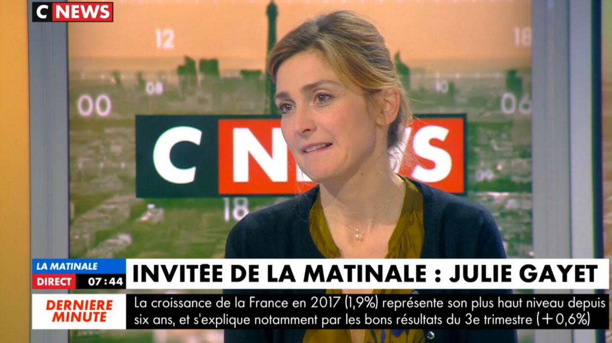 Julie Gayet explique pourquoi elle n'ira pas aux Oscars avec François Hollande