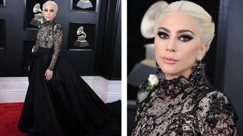 Tendance make-up: le smoky glitter de Lady Gaga