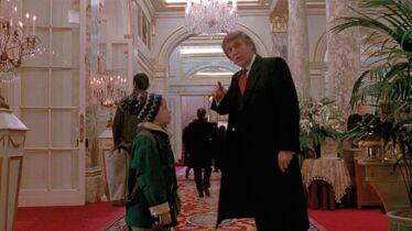 Il n'a pas raté Donald!