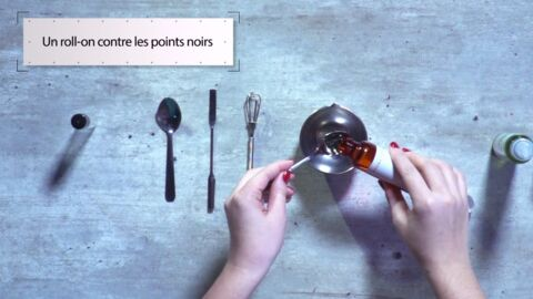 VIDEO LA MINUTE DIY : Comment fabriquer un roll-on naturel pour se débarrasser des points noirs
