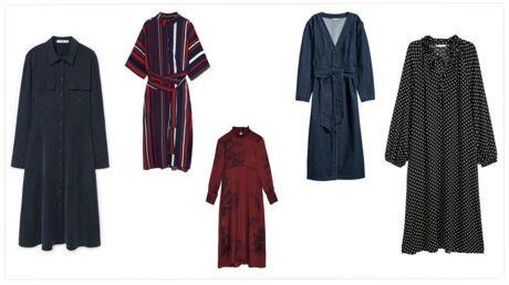 20 robes midi à shopper de toute urgence!