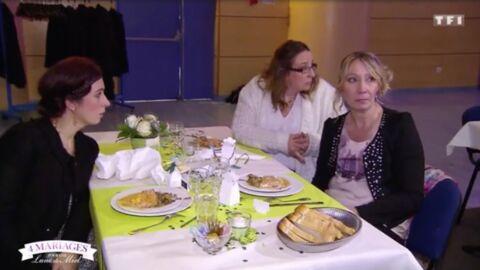 Quatre mariages pour une lune de miel: trois candidates plantent la fête de leur concurrente