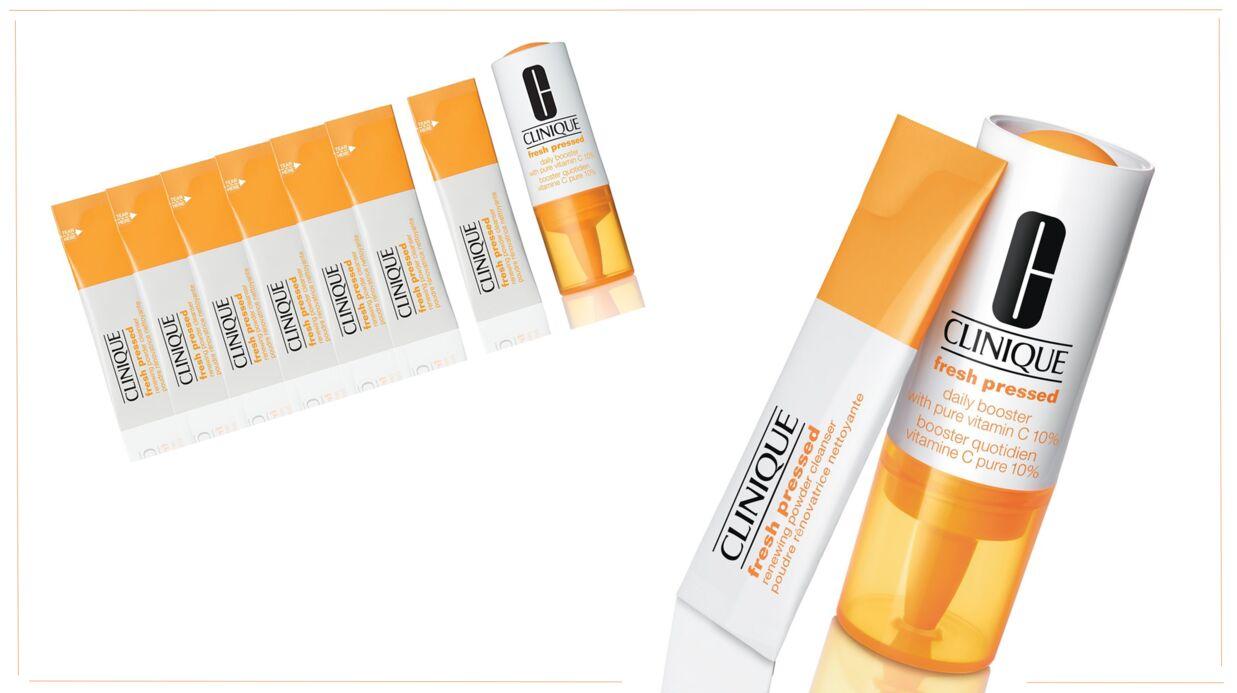 J'ai testé… la gamme Fresh Pressed à la vitamine C, de Clinique