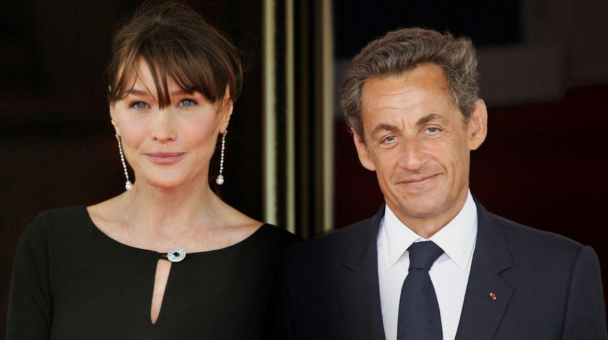 PHOTO Carla Bruni: sa jolie déclaration d'amour à Nicolas Sarkozy pour leurs dix ans de mariage