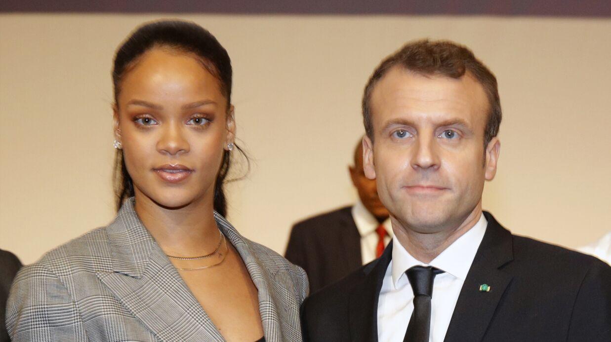 Après l'Élysée, les retrouvailles de Rihanna et Emmanuel Macron à Dakar
