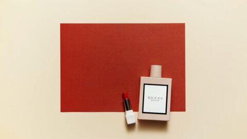 Nos beauty crushs: Eau de Parfum Gucci Bloom et le rouge à lèvres KissKiss Lovelove Guerlain