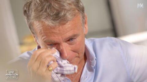VIDEO Franck Dubosc en larmes évoque la mort de son père, d'une terrible maladie