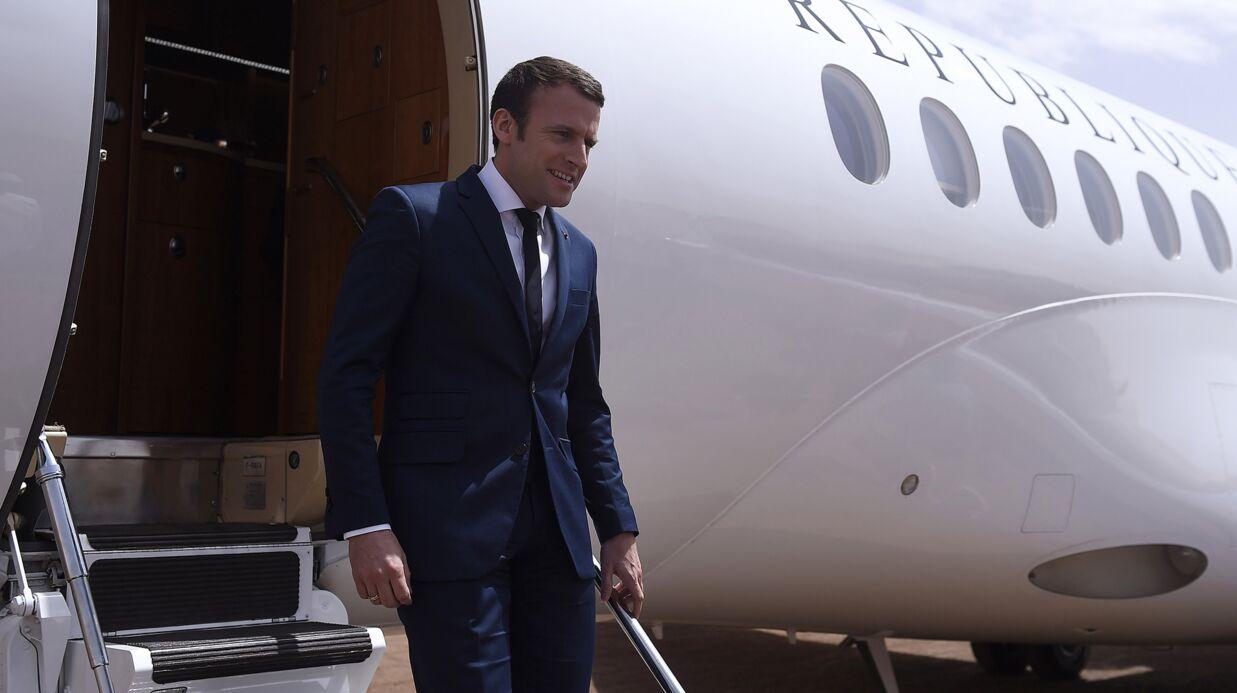 Emmanuel Macron: son Falcon a percuté l'avion du président du Sénégal