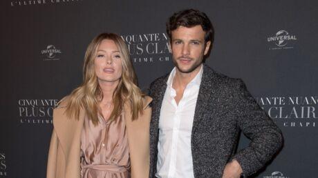 PHOTOS Caroline Receveur enceinte: première sortie officielle avec  Hugo Philip pour 50 Nuances plus claires