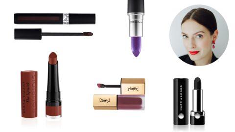 Comment bien porter le rouge à lèvres foncé? Les conseils de Joséphine Bouchereau, Make Up Artist Bourjois
