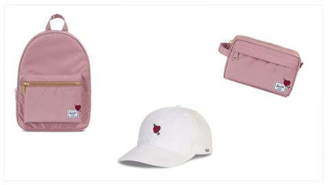Herschel lance une collection exclusive pour la Saint-Valentin