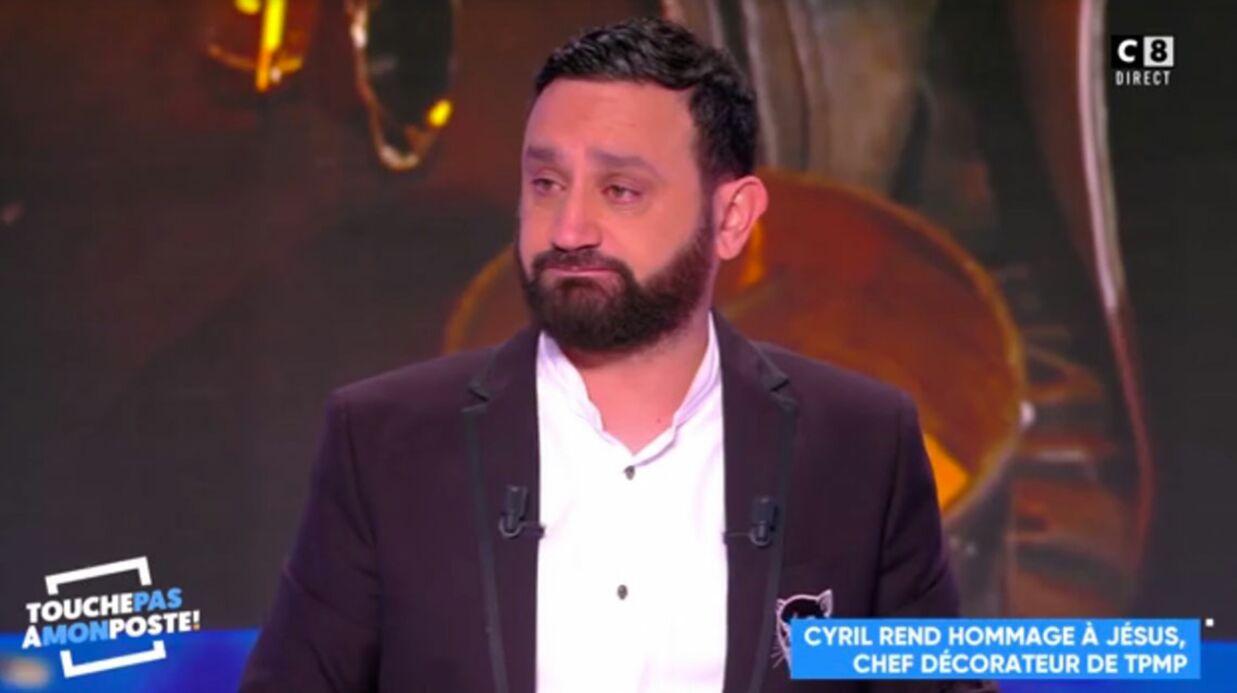 Cyril Hanouna en larmes après la mort d'un membre de TPMP: «Je l'aimais beaucoup»