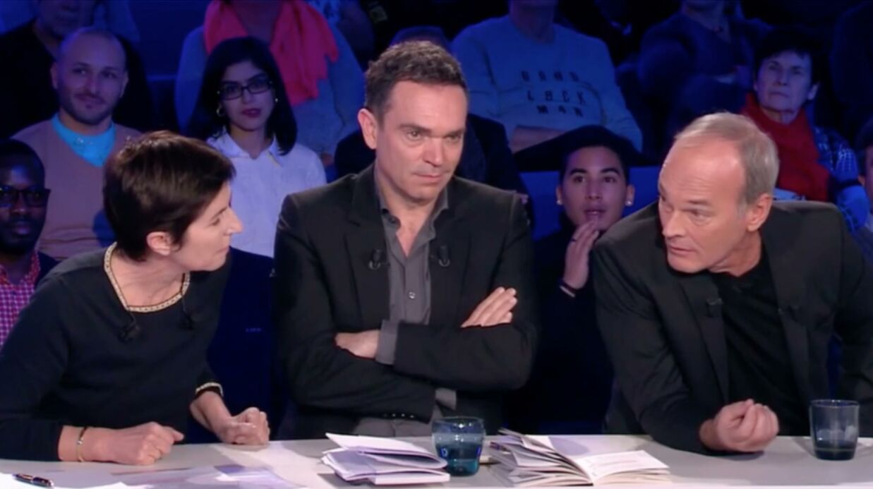 VIDEO On n'est pas couché : une « embrouille » entre Chris­tine Angot et Laurent Baffie coupée au montage