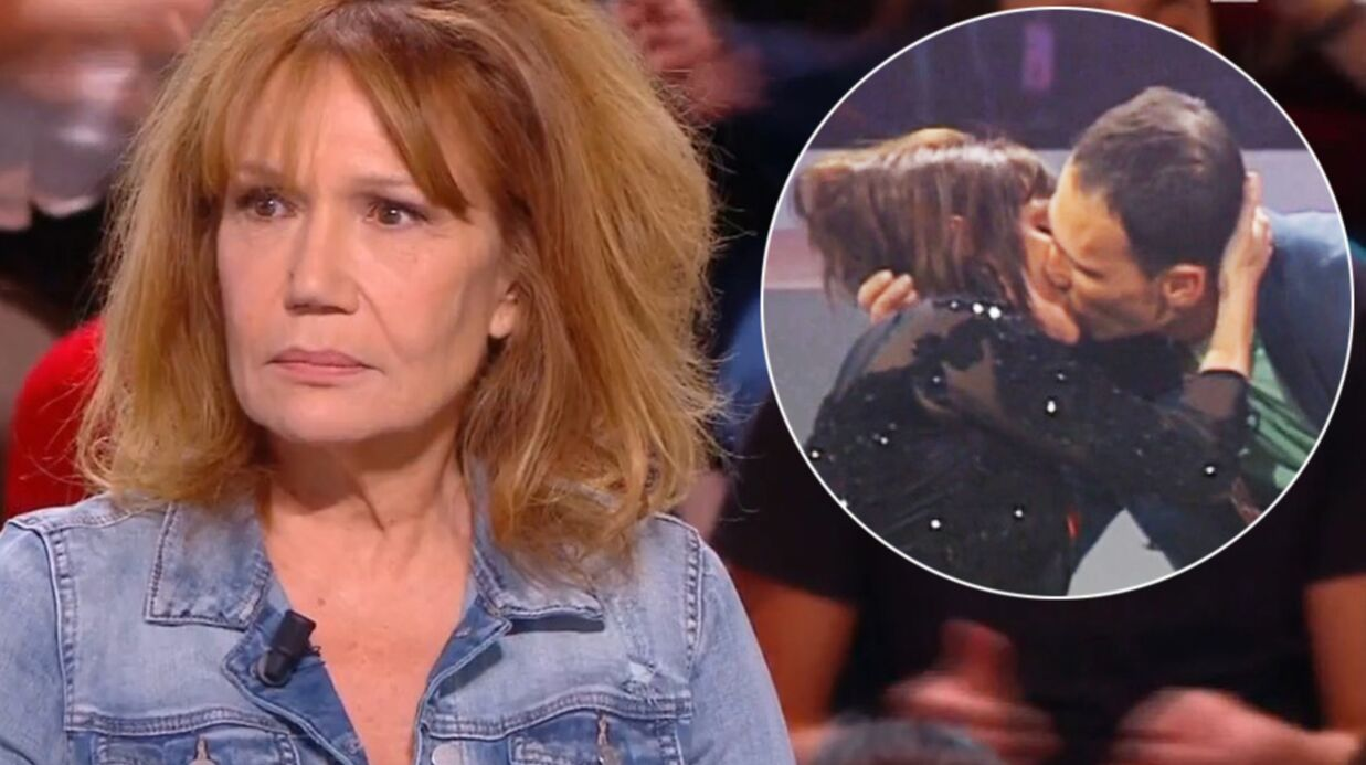 VIDEO Clémentine Célarié très émue en retrouvant l'homme séropositif qu'elle avait embrassé au Sidaction en 1994