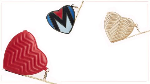 It-bag: la besace en forme de cœur de chez Maje