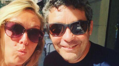 Enora Malagré et Thierry Moreau immortalisent leurs retrouvailles au restaurant