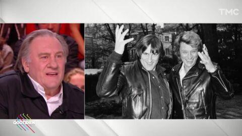 VIDEO Gérard Depardieu raconte la fois où il a fait une overdose avec Johnny Hallyday