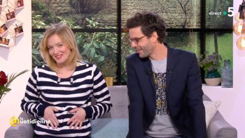 VIDEO Maya Lauqué annonce en direct sa deuxième grossesse
