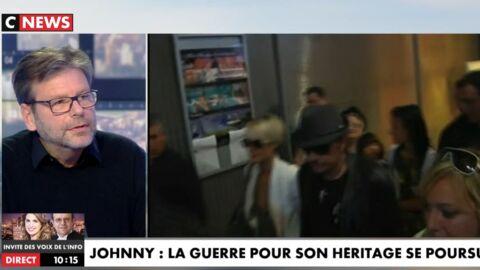 VIDEO Johnny Hallyday aurait eu des rapports tendus avec Laura et David avant sa mort
