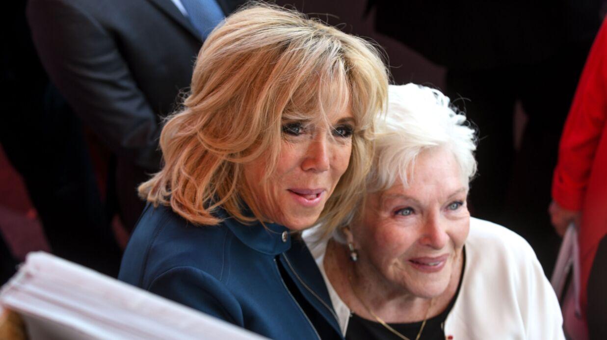 Brigitte Macron a rendu visite à Line Renaud, «affaiblie par le décès de Johnny Hallyday»
