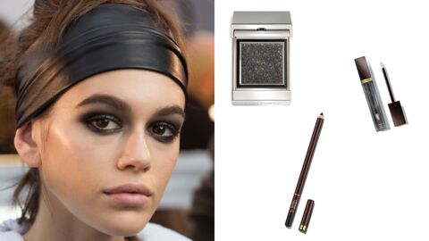 Tendance make-up : le smoky effet mouillé de Tom Ford Beauty
