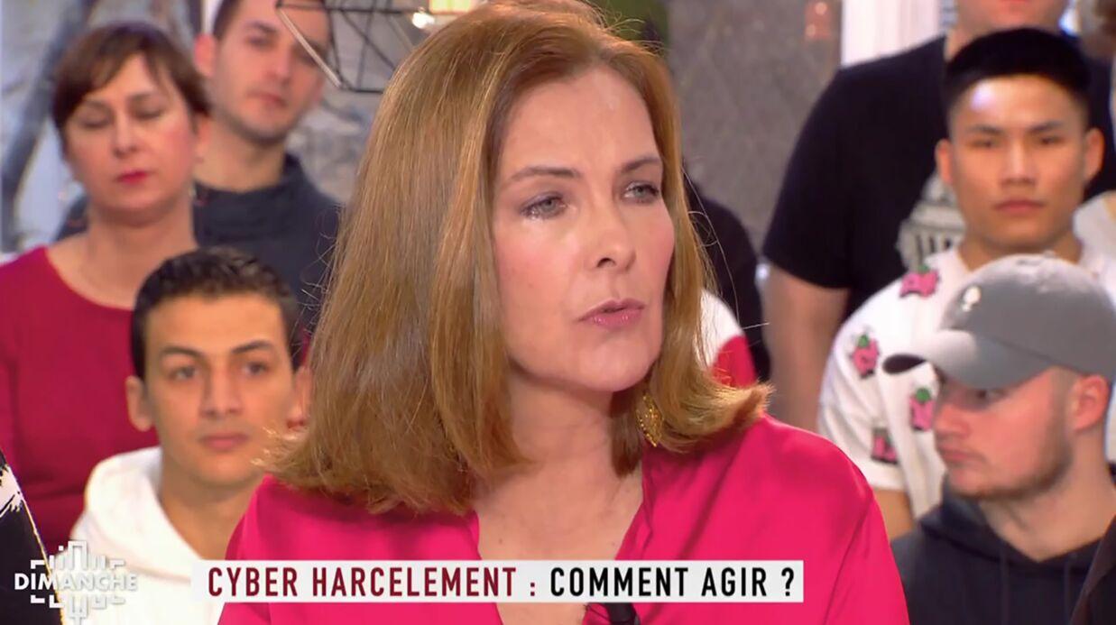 Carole Bouquet: harcelée par des pédophiles, elle recevait «les photos les plus immondes»