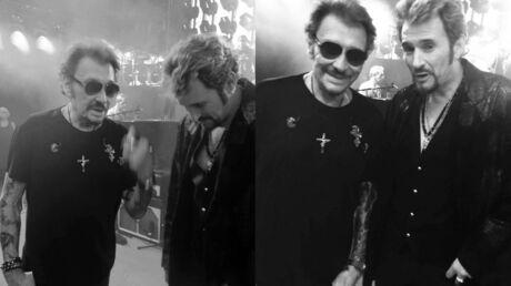 Johnny Hallyday: on sait enfin ce que pouvait dire l'idole des jeunes lorsqu'il croisait un de ses sosies officiels