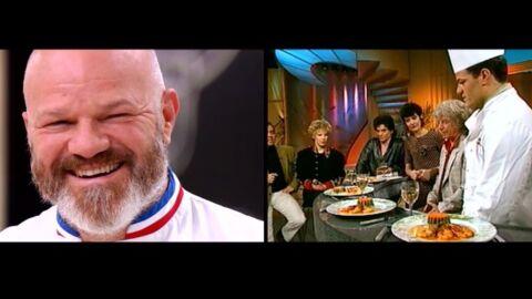 VIDEO Top Chef: Philippe Etchebest gêné de revoir ses premiers pas à la télé