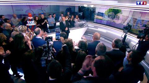 VIDEO Jean-Pierre Pernaut a droit à une surprise pour ses 30 ans de JT et ironise sur son départ de TF1