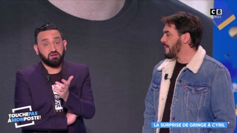 VIDEO TPMP : Gringe règle ses comptes en direct avec Cyril Hanouna