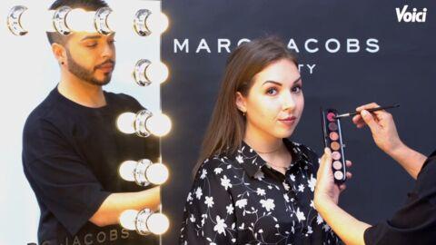 VIDEO Avec une palette, le Make Up Artist Marc Jacobs Beauty crée un maquillage de jour et autre de soirée
