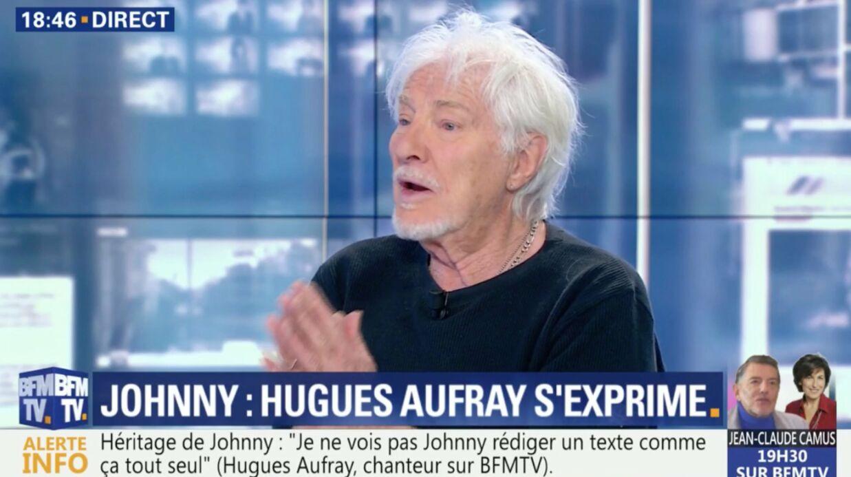 VIDEO Héritage de Johnny Hallyday: le discours d'apaisement d'Hugues Aufray