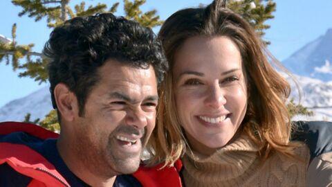 PHOTO Jamel Debbouze et Mélissa Theuriau, très amoureux sur les pistes de ski
