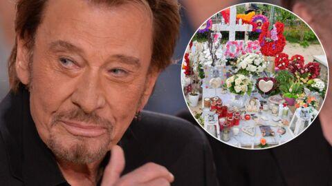 Johnny Hallyday: sa tombe à Saint Barth reste la plus fleurie mais commence à être négligée