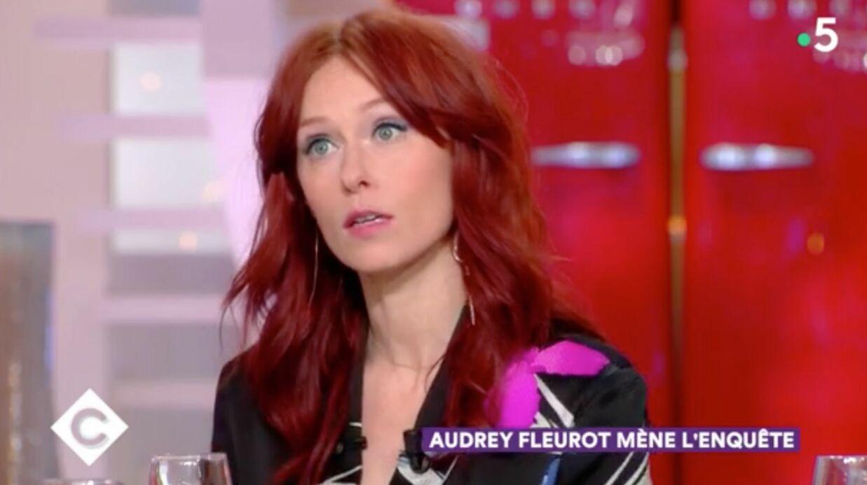 VIDEO Audrey Fleurot: victime d'exhibitionnistes, elle s'engage contre le harcèlement sexuel
