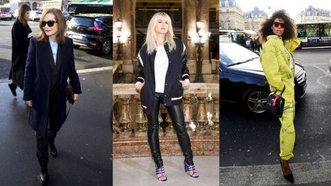 PHOTOS Isabelle Huppert, Tina Kunakey, Cécile Cassel ultra lookées au défilé Stella McCartney