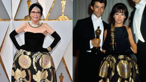 PHOTOS Oscars 2018: Rita Moreno ressort la robe qu'elle portait aux Oscars de 1962… en version plus sexy!