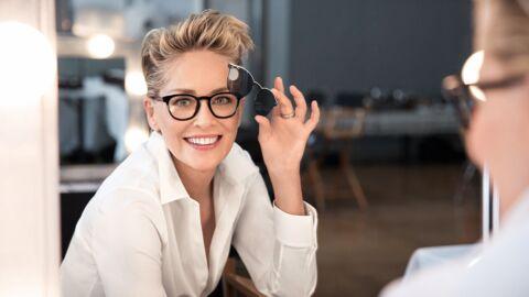 Sharon Stone fait sa star avec les nouvelles lunettes à verres interchangeables Smart Tonic signées Afflelou