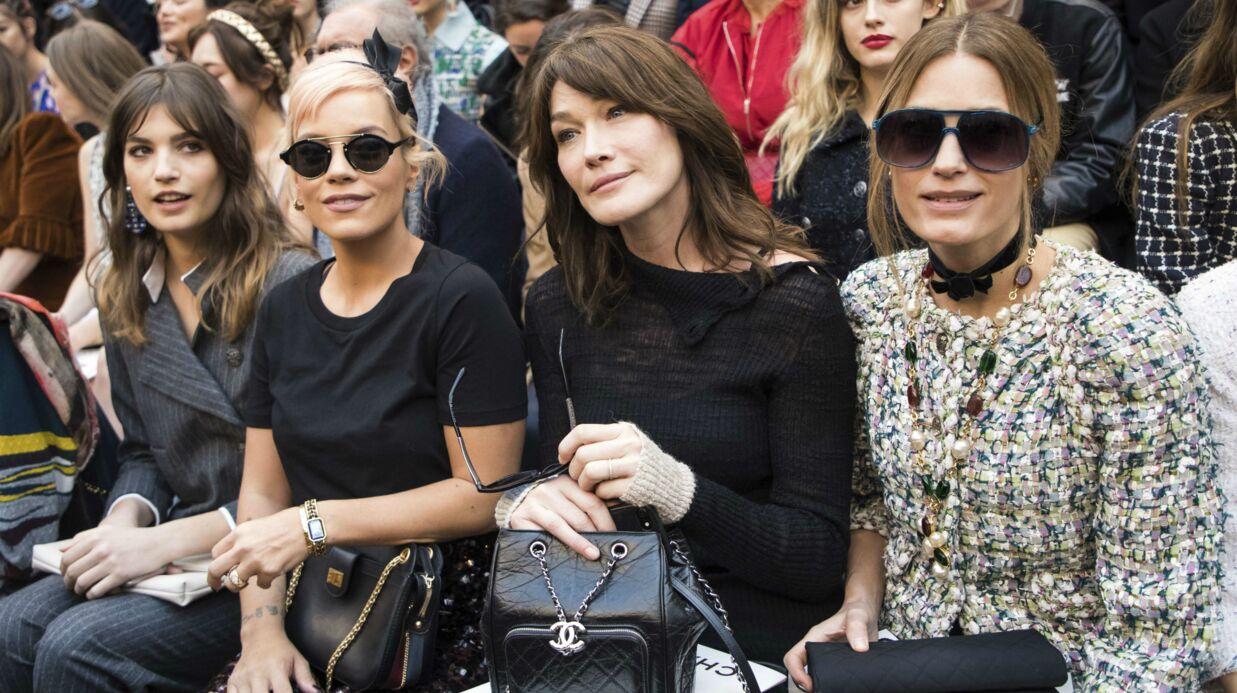 PHOTOS Carla Bruni, Vanessa Paradis, Pauline Ducruet, Lily Allen: parterre de stars au défilé Chanel