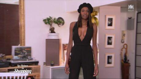 PHOTOS Les reines du shopping: topless ou en lingerie, Maryline est ultra sexy