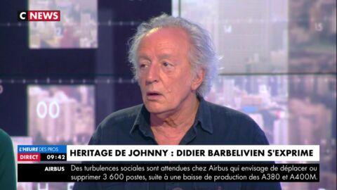 VIDEO Didier Barbelivien enfonce Laeticia Hallyday: voilà ce qu'il aurait fait avec le testament à la place de la veuve