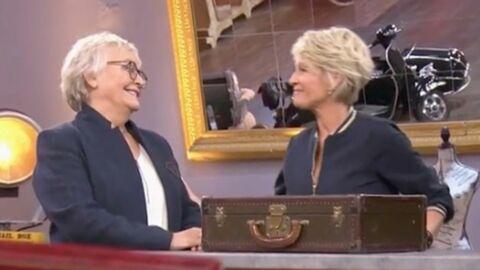 VIDEO Affaire conclue: Sophie Davant retrouve celle qui l'a aidée à faire carrière à la télé