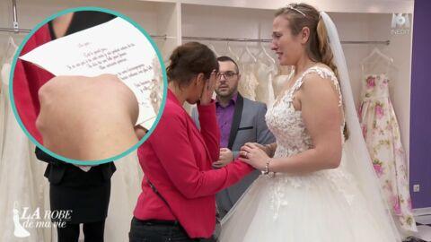 VIDEO La robe de ma vie: une mariée s'effondre en découvrant la lettre de sa mère décédée