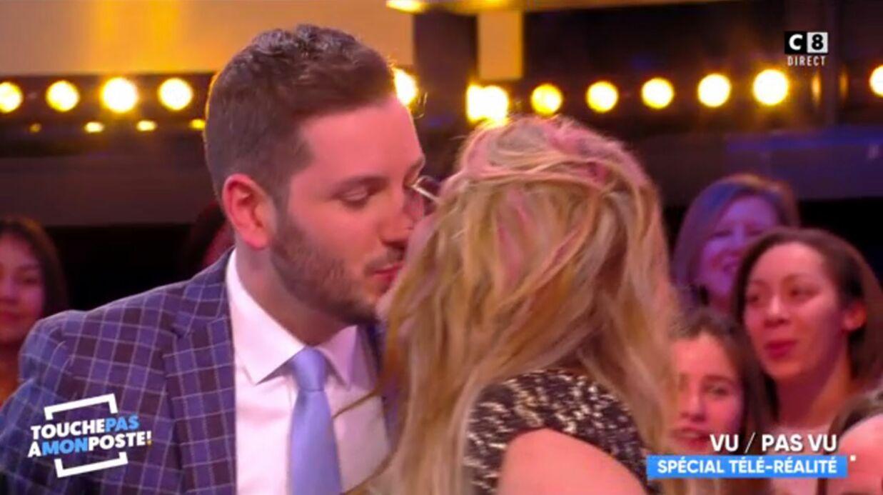 VIDEO Loana et Maxime Guény s'embrassent sur la bouche dans Touche pas à mon poste
