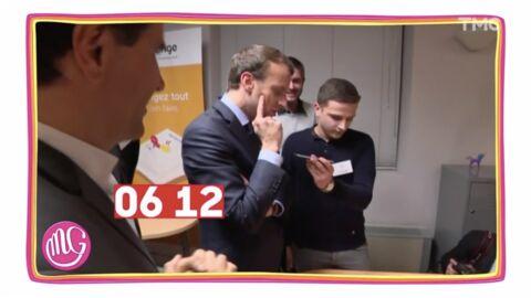 VIDEO Emmanuel Macron donne son numéro de portable, Yann Barthès révèle «l'arnaque» du Président