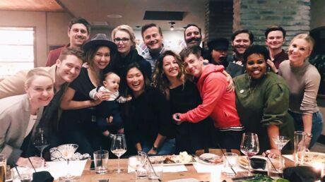 PHOTO Les stars de Glee (presque) toutes réunies, trois ans après la fin de la série