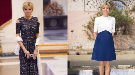 PHOTOS Brigitte Macron très élégante, ses robes font sensation en Inde